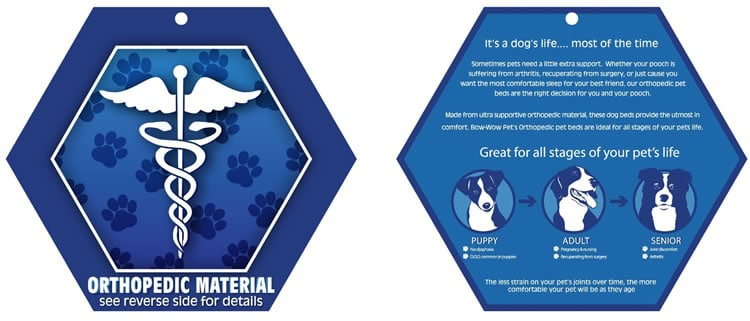 AKC orthopedic certified material