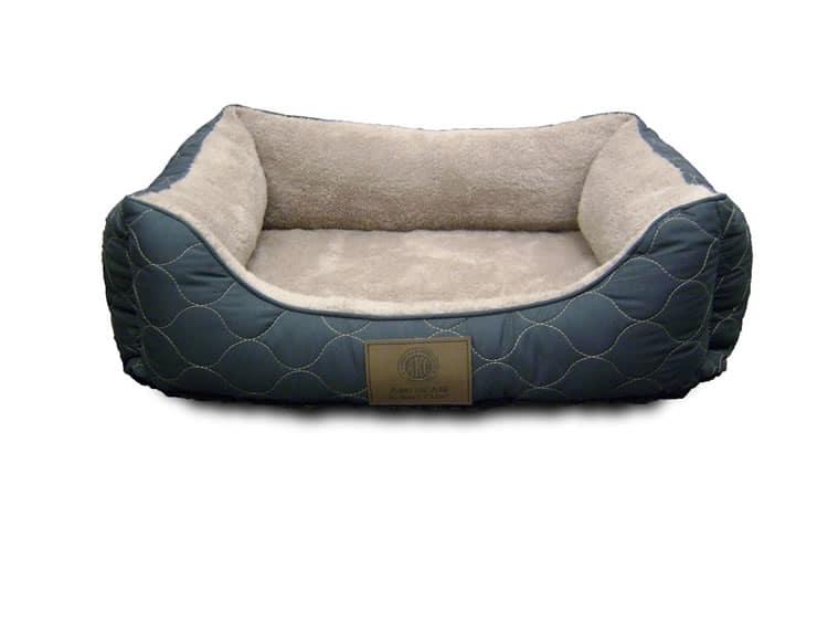 AKC orthopedic dog bed cuddler Blue