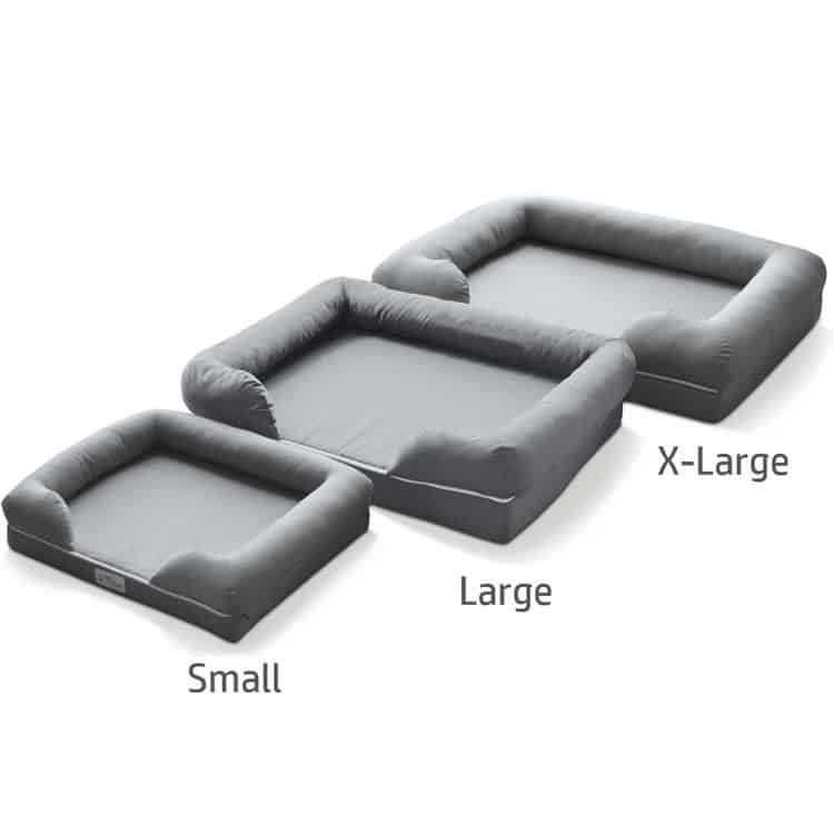 petfusion dog bed 3 sizes