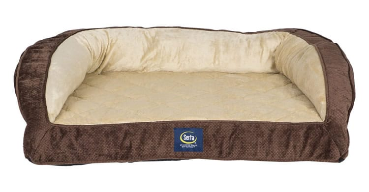Serta Quilted Orthopedic Dog Bed