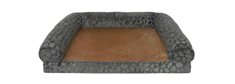 Canine Creations Orthopedic Rectangle Bolster Pet Bed